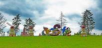欧美风情儿童乐园