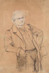 贝尔丹先生肖像草稿