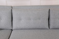 美丽的亚麻长沙发靠枕
