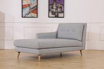 美丽的亚麻沙发靠椅