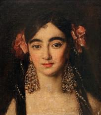 西班牙女人肖像