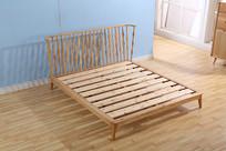 美丽的床木架