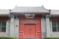 老北京传统民宅大门