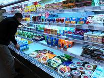 食品超市货架