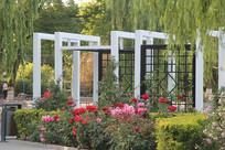 园林花园休息厅