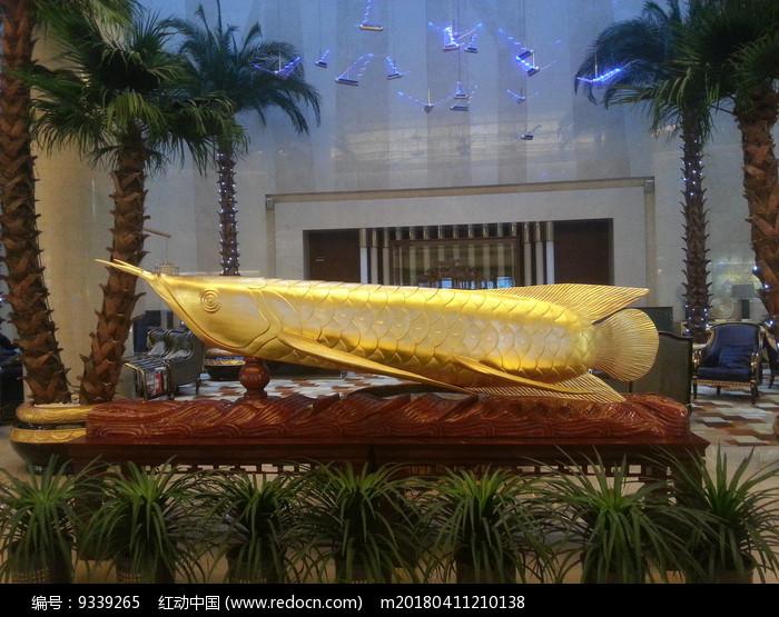 金龙鱼雕塑图片