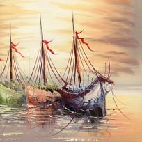 欧美装饰画一帆风顺