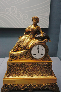 铜镀金西洋钟
