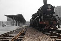 蒸汽老火车