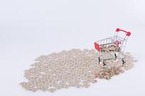 金币和购物车