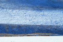 白雪皑皑的山地雪原