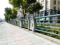 城市交通路面人行道摄影