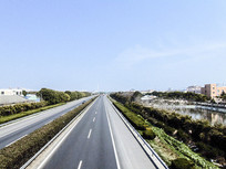 高速公路道路交通摄影图