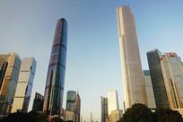 广州 珠江新城建筑群