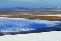 山地雪原地理风光