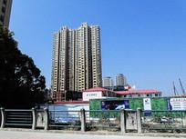 城市建筑群建筑设计楼盘素材
