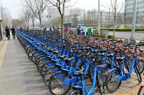 街头小蓝 单车