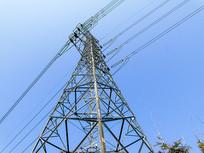 能源输送高清电塔摄影图