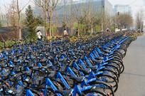 小蓝自行车