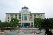 上海外国语学校的办公大厅