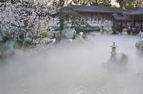 雾中樱花园