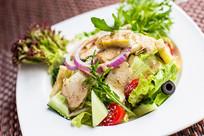 鸡肉蔬菜沙拉