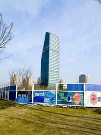 上海地标建筑绿地大厦摄影