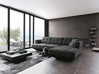 棉麻沙发外国沙发