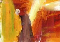 高清抽象油画图片素材