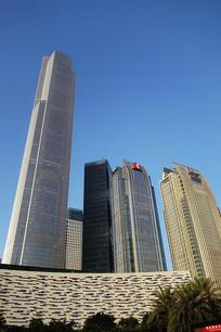 广州天河区珠江新城摩天大楼