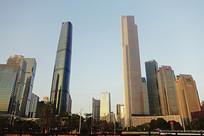 广州珠江新城高楼大厦