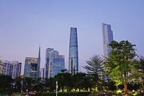 广州珠江新城现代化高楼大厦