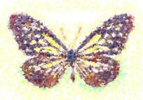 蝴蝶画欧美装饰画