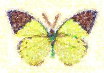 欧美装饰画蝴蝶
