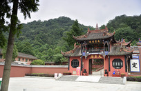 什邡大王庙庙门