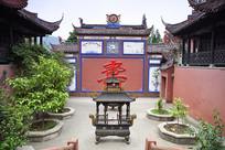 什邡大王庙寿字墙