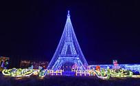 埃菲尔铁塔造型彩灯