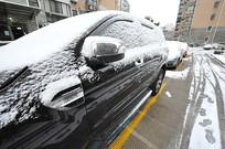 大雪停车场