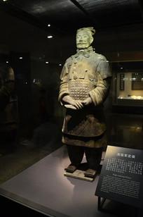 西安兵马俑高级军吏