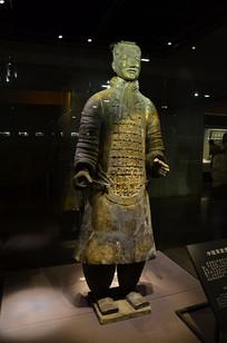 西安兵马俑中级军吏