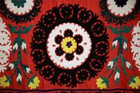 地毯红色图案