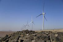 风电机组拍摄