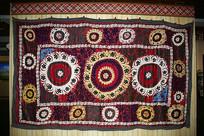花卉纹挂毯