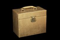 金黄色的箱子