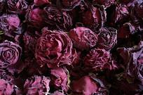 云南满泽墨红玫瑰花茶干花