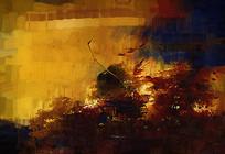 古典抽象油画