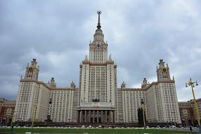 俄罗斯的莫斯科大学