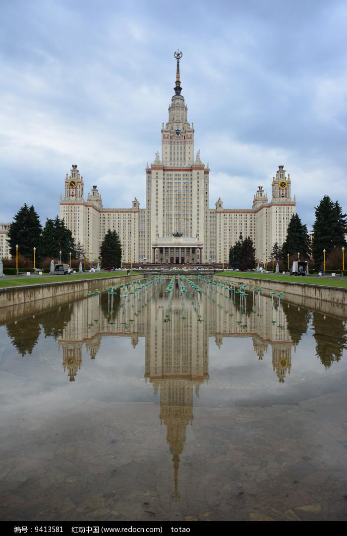 俄罗斯莫斯科大学图片
