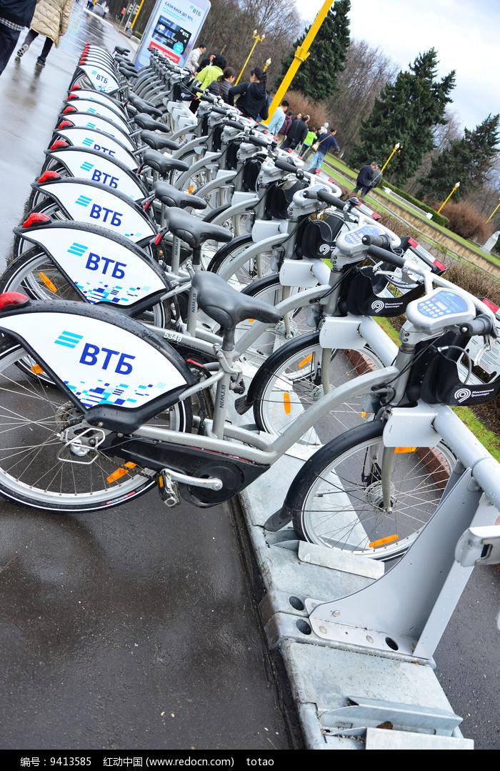 俄罗斯莫斯科共享单车bt6图片