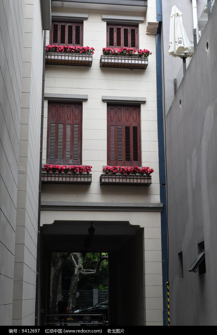 过街楼图片